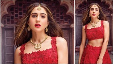 Sara Ali Khan Poses As the Official Brand Ambassador of TBZ in Her Latest Instagram Post