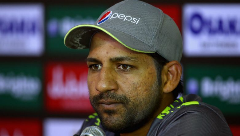 Sarfaraz Ahmed Mourns the Death of Test Umpire Riazuddin; Team To Wear Black Bands for the CWC 2019 PAK vs AUS