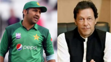 Imran Khan Once Again Takes a Dig at Sarfaraz Ahmed for Batting Second Against Indian During CWC 2019