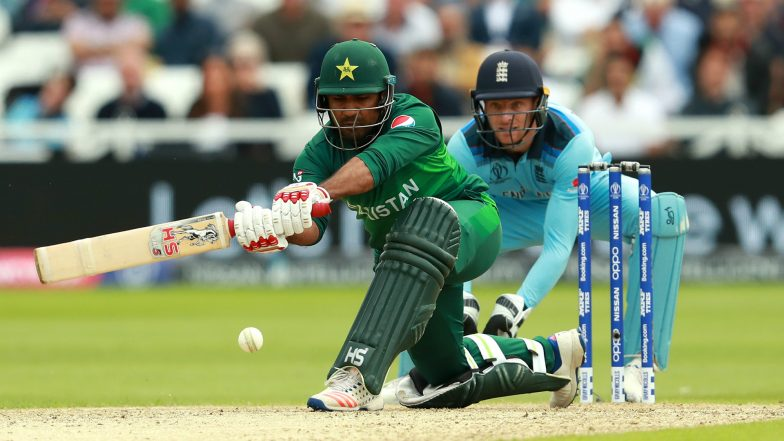Sarfaraz Ahmed Hits a Timely Fifty in Pakistan vs England Cricket World Cup 2019 Match