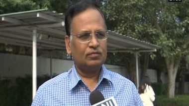 Delhi Power Minister Satyendar Jain Inaugurates Electric Vehicle Charging Station at South Ex Market