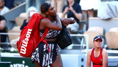 Serena Williams Loses to Sofia Kenin in Straight Sets, Exits French Open 2019