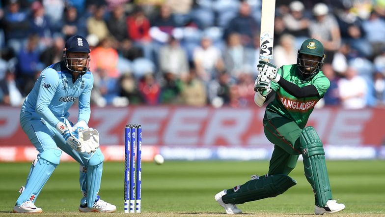 Shakib Al Hasan Becomes Second Bangladesh Batsman to Score a World Cup Century,  Achieves Feat During ENG vs BAN CWC19 Match