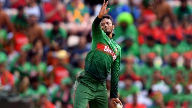 Shakib Al Hasan Takes 5 Wicket Haul to Achieve Career Best Figure of 5/29 As Bangladesh Beat Afghanistan in ICC CWC 2019