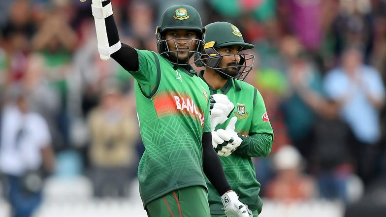 Shakib Al Hasan and Liton Das Guide Bangladesh to Famous Victory Against West Indies in ICC CWC 2019, Twitter Blown Away by Effort of The Tigers