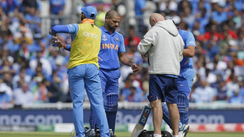Shikhar Dhawan Ruled Out of ICC Cricket World Cup 2019 With Thumb Fracture, Rishabh Pant Named Replacement