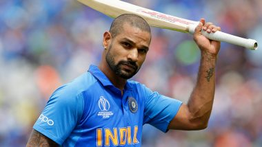 Shikhar Dhawan Fully Fit for India vs West Indies 2019; Available for Selection