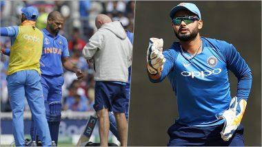 Delhi Cricketers Shikhar Dhawan and Rishabh Pant Reunite During India vs West Indies 2019 Series