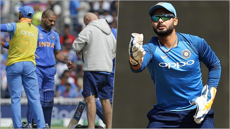 Injured Shikhar Dhawan Out of CWC 2019, Twitterati Demand Rishabh Pant's Inclusion in Team India Squad for Cricket World Cup!