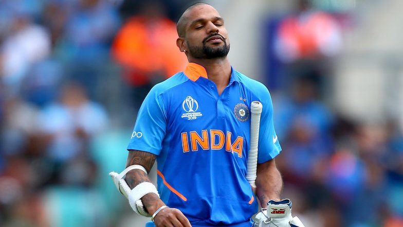 Shikhar Dhawan Ruled Out of ICC Cricket World Cup 2019 For 3 Weeks, Team India to Miss Opener Who Sustained Thumb Injury During IND vs AUS Match!