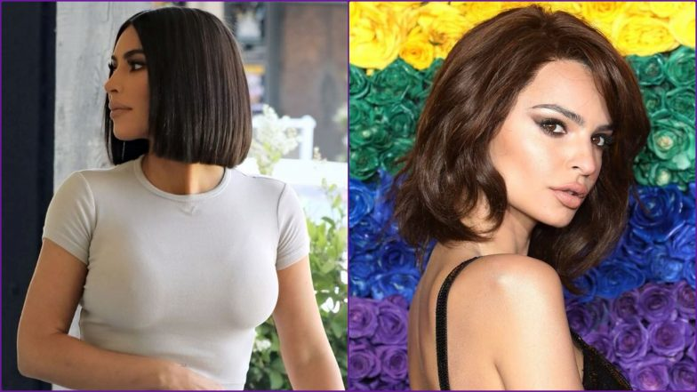 Kim Kardashian, Emily Ratajkowski Prove Sexy Short Hair is Still Trendy (View Pics)