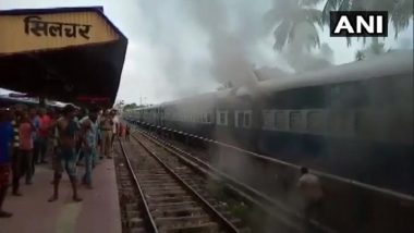 Silchar-Thiruvananthapuram Express Hit by Fire Onboard; 3 Coaches & Pantry Car Caught in Blaze