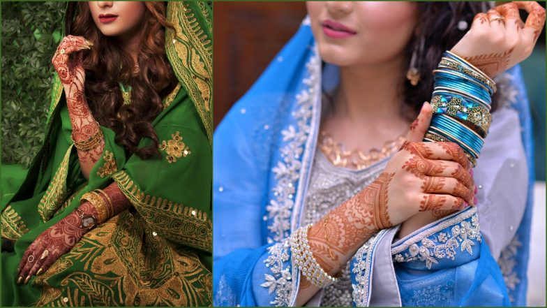 Simple Eid Henna Designs and Latest Mehndi Images for Eid Al-Fitr 2019: Apply Easy Mehandi Patterns to Celebrate Eid (Watch Video Tutorials to Learn)