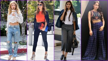 Smart Ways to Style Boyfriend Jeans, Culottes, Palazzo & Other Bottom Wear For Women