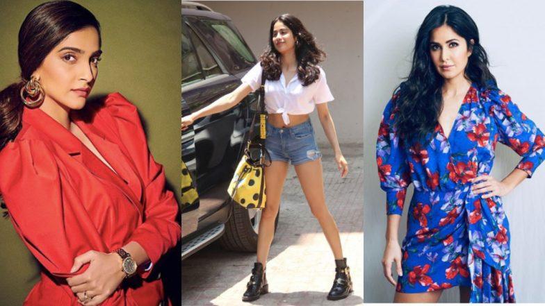 Sonam Kapoor Asks 'Mediawallas' to Not Create Drama, Calls Katrina Kaif's Comment on Janhvi Kapoor's Shorts 'Innocent'