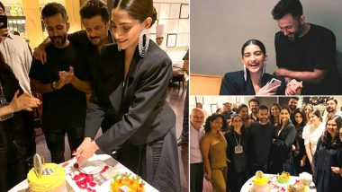 Sonam Kapoor Birthday Party Pics: Anand Ahuja, Anil Kapoor and Friends Make Actress' Day Special With Cakes, Glamour and Lots Of Love!