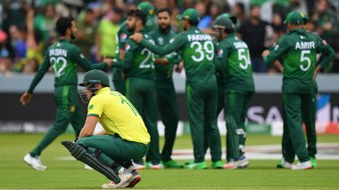 South Africa Knocked Out of Cricket World Cup 2019: Defeat to Pakistan Means Proteas Out of Semi Final Contention