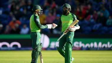 SA vs AFG CWC 2019 Stats Highlights: South Africa Beats Afghanistan by 9 Wickets as Imran Tahir Picks 4 , Quinton de Kock Scores Fifty