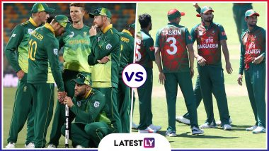 SA vs BAN Head-to-Head Record: Ahead of ICC CWC 2019 Clash, Here Are Match Results of Last 5 South Africa vs Bangladesh Encounters!