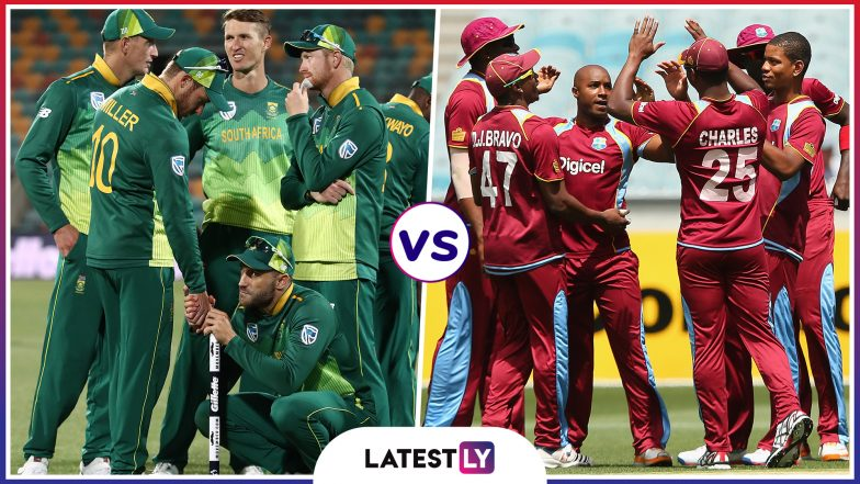 South Africa vs West Indies Head-to-Head Record: Ahead of ICC Cricket World Cup 2019 Clash, Here Are Match Results of Last 5 SA vs WI Encounters!