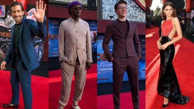 Spider-Man: Far From Home Premiere: Tom Holland, Jake Gyllenhaal, Zendaya Look Absolutely Lustrous At The Red Carpet - View Pics