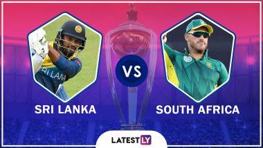Sri Lanka vs South Africa Highlights, ICC Cricket World Cup 2019 Match: Hashim Amla, Faf du Plessis Help SA Beat SL By 9 Wickets After Dwaine Pretorius 3-Fer
