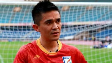 Sunil Chhetri Has a Message For Football Fans Ahead of India vs Oman, FIFA World Cup 2022 Qualifiers (Watch Video)