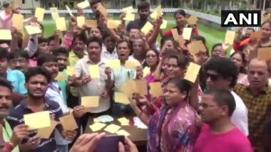 To Counter 'Jai Shri Ram', TMC Workers Send 10,000 Postcards to PM Narendra Modi with 'Vande Mataram, Jai Hind and Jai Bangla' Messages