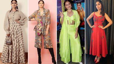 Sonam Kapoor, Sonakshi Sinha and Mrunal Thakur Baffle us With Their Fashion Choices This Week - View Pics