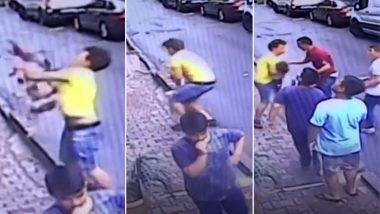 Two-year-old Falls From Second Floor in Turkey, 'Alert' Teenager Catches Her (Watch Chilling Video)