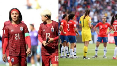 Thailand vs Chile, FIFA Women's World Cup 2019 Live Streaming: Get Telecast & Free Online Stream Details of Group F Football Match in India