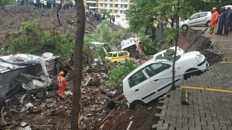 Pune Wall Collapse: FIR Registered Against 8 Including Builders, 2 Accused Held