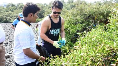 Tiger Shroff Dedicates His Holiday To the Cleanliness Drive On Mumbai's Beach - View Pics and Video