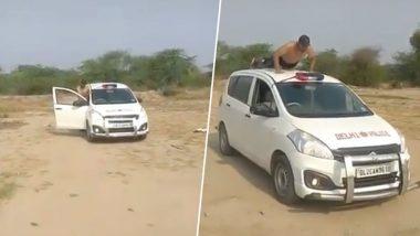TikTok Video of Shirtless Man Doing Stunt on Delhi Police Car Goes Viral