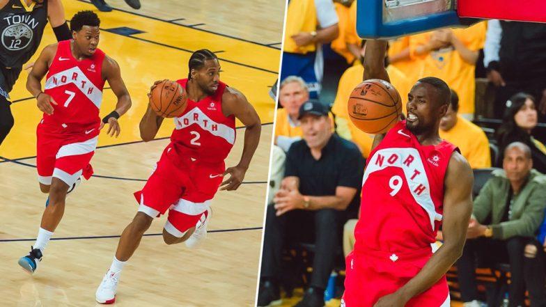 NBA Finals 2019: Toronto Raptors Beats Golden State Warriors 114-110 to Win Their First NBA Title (Watch Videos)