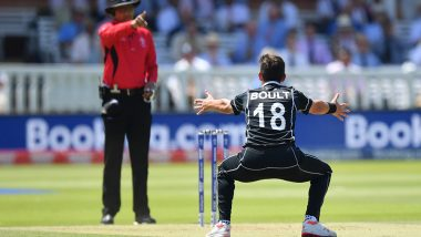 Trent Boult Takes Hat-trick in NZ vs AUS World Cup 2019! Becomes First Ever New Zealand Player and Second After Mohammed Shami This CWC19