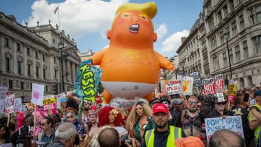 'Trump Baby Blimp': London Museum to Acquire Giant Balloon of US President Donald Trump on His Visit to UK