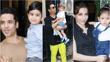 Tusshar Kapoor's Son Laksshya Kapoor's Birthday Bash: Soha Ali Khan, Inaaya Naumi Kemmu, Karan Johar and Lil Yash Johar Arrive for - View Pics! the Party