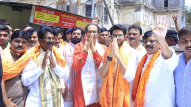 In Ayodhya, Shiv Sena Chief Uddhav Thackeray Demands Ordinance For Ram Temple
