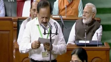 Parliament Monsoon Session 2019: Linguistic Diversity On Show as New Members Take Oath in Lok Sabha