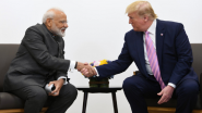 'Namaste Trump' Live Streaming on DD News: Watch Online Telecast of US President Donald Trump And PM Narendra Modi's Joint Address at Motera Stadium in Ahmedabad