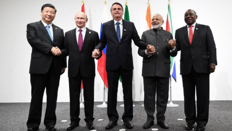 Japan: PM Narendra Modi Discusses Counter-Terror, Climate Change With Russian President Vladimir Putin, Chinese President Xi Jinping at G20 Summit