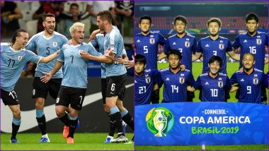 Uruguay vs Japan, Copa America 2019 Live Streaming & Match Time in IST: Get Telecast & Free Online Stream Details of Group C Football Match in India
