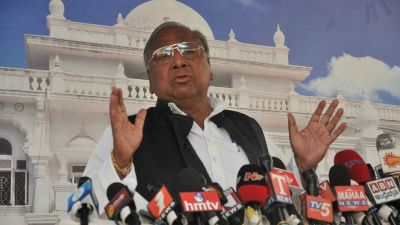 Telangana Congress' V Hanumantha Rao's Shocker: 'Some Leaders Sold Poll Tickets in Recent Assembly Elections'
