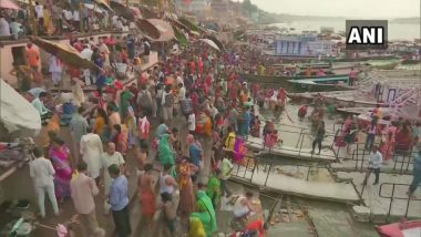 Ganga Dussehra 2019 Images: Devotees Take Holy Dip in River Ganga to Celebrate the Auspicious Festival