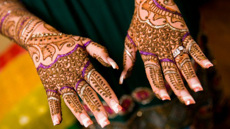 Vat Savitri Vrat 2019 Mehndi Designs: Simple Henna Patterns and Latest Mehandi Images for Married Women to Celebrate Savitri Brata