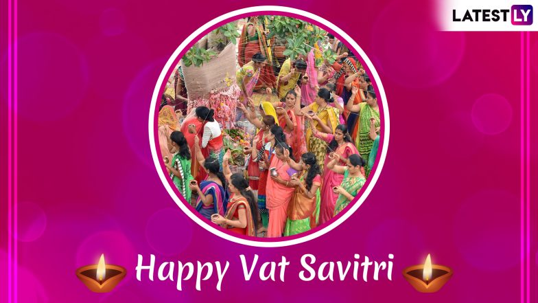 Vat Savitri Images & Savitri Vrat HD Wallpapers for Free Download Online: Wish Happy Vat Purnima 2019 With GIF Greetings & WhatsApp Sticker Messages