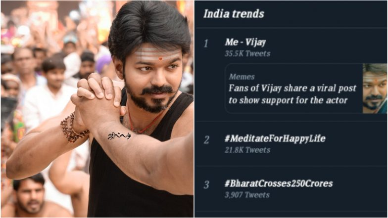 Me - Vijay Trends on Twitter: Here's Why Netizens are Sharing Pictures of the South Superstar and How it All Started!