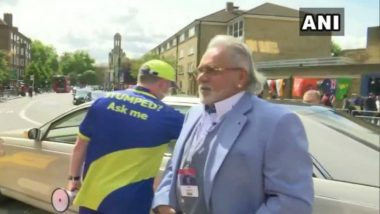 Crowds Shouts 'Chor Hai' As Vijay Mallya Leaves The Oval Stadium After IND vs AUS CWC 2019  Match (Watch Video)