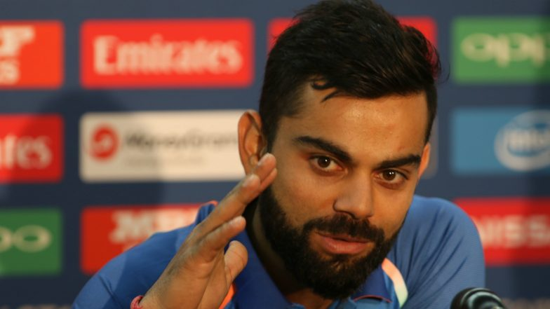 Virat Kohli Addresses Media Ahead of IND vs SA CWC 2019 Clash, Says Have Good Chance of Winning Group Stage Games